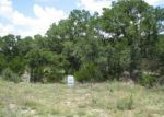 Foreclosed Home in Canyon Lake 78133 725 PANORAMA PT - Property ID: 3787939